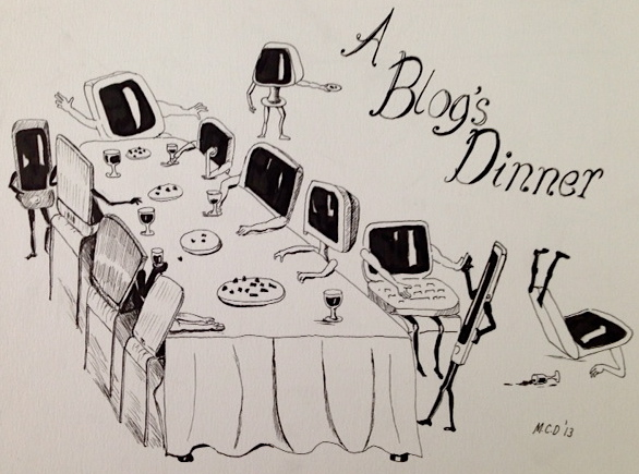 A blog's dinner