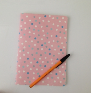Between the covers of this pink polka dot notebook lies a spine-tingling tale of treachery, murder and the supernatural!