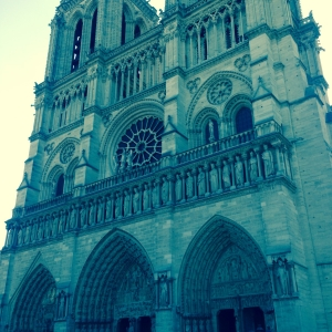 Did alchemist build the Cathedrals of Paris? Some believe so, including the mysterious scientist, Albert Price in 'The Alchemist of Paris'