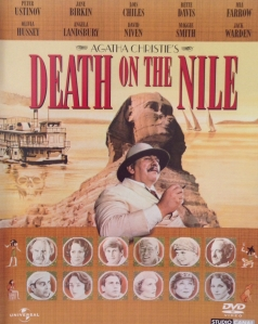 Movie Poster for the 1978 Universal Studios film of Death on the Nile